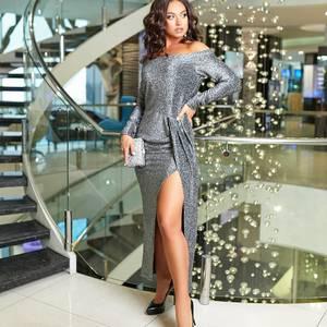 Платье длинное нарядное А16573