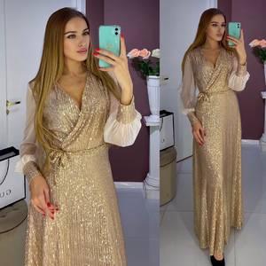 Платье длинное нарядное А17723