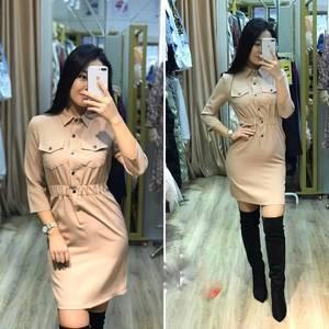 Платье короткое современное А19614