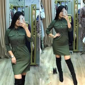 Платье короткое современное А19616