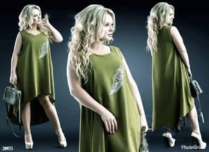 Платье короткое летнее Ц6650