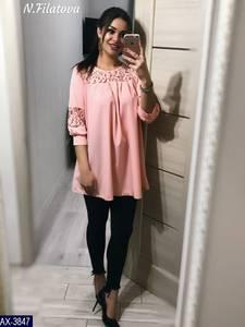 Блуза нарядная Ц6869
