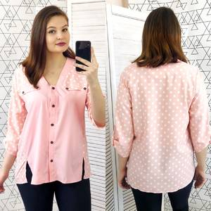 Рубашка с принтом Ц6306