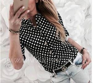 Рубашка с принтом Ц6603