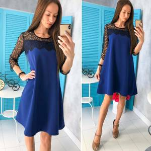 Платье короткое нарядное Ц6796