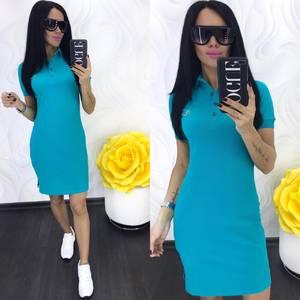 Платье короткое повседневное Ц6937