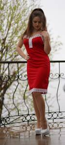 Платье короткое летнее Ц6308