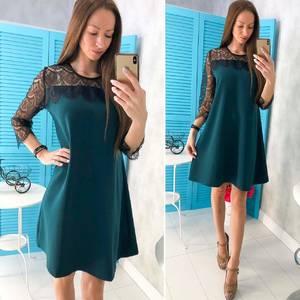 Платье короткое нарядное Ц6798