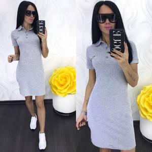 Платье короткое повседневное Ц6939