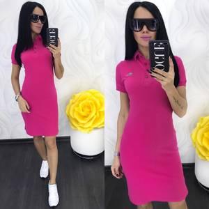 Платье короткое повседневное Ц6940