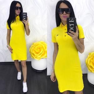 Платье короткое повседневное Ц6941