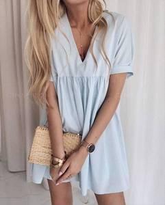 Платье короткое летнее Ц6644