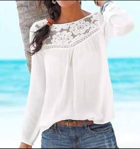 Блуза с длинным рукавом Ц5612