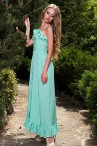 Платье длинное нарядное Ц6566