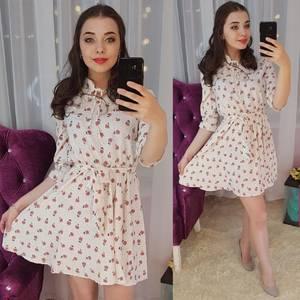 Платье короткое нарядное Ц6596