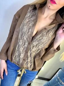 Рубашка с длинным рукавом Ц6423
