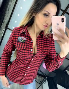 Рубашка с длинным рукавом Ц6434
