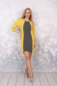 Платье короткое нарядное Ц6198