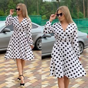 Платье короткое нарядное Ц6568