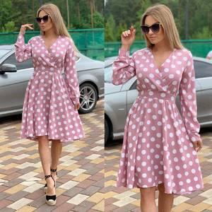 Платье короткое нарядное Ц6569
