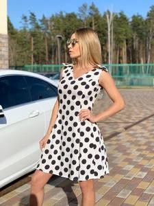 Платье короткое современное Ц6455