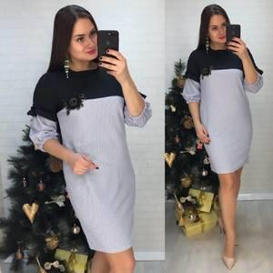 Платье короткое нарядное Ц6792