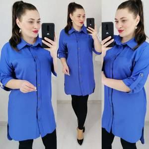 Рубашка удлиненная Ц7102