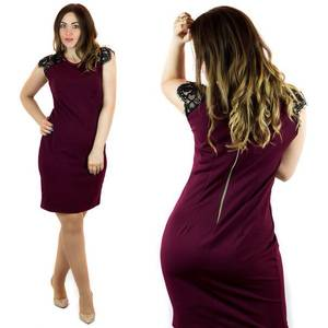 Платье короткое нарядное Ц7110