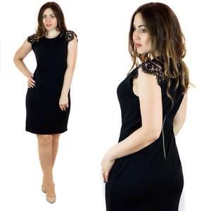 Платье короткое нарядное Ц7112