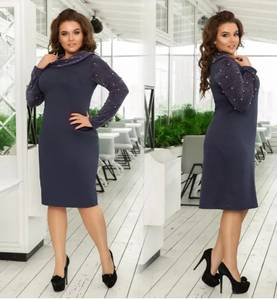 Платье короткое вечернее современное Ф5081