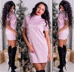 Платье короткое нарядное современное Ф8688