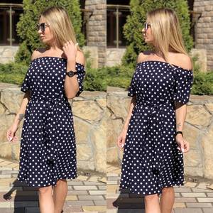 Платье короткое современное Ц7120