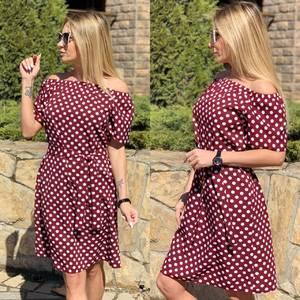 Платье короткое современное Ц7121