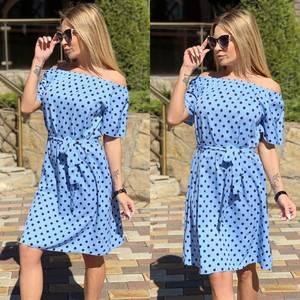 Платье короткое современное Ц7122