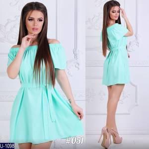 Платье короткое летнее Ц7149
