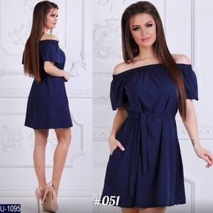 Платье короткое летнее Ц7151