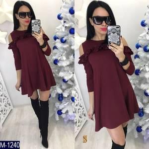 Платье короткое современное Ц7172