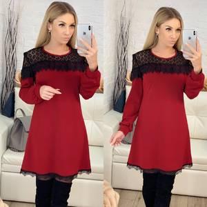 Платье короткое современное Ц7177