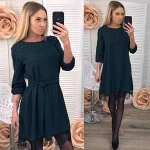 Платье современное короткое Ц7181