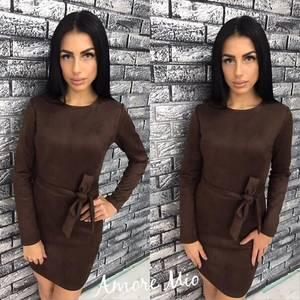 Платье короткое облегающее Ц7185