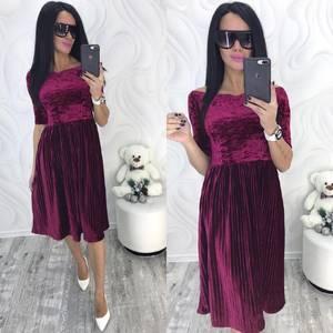 Платье короткое нарядное современное Ф8728