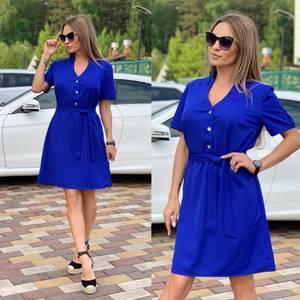 Платье короткое современное Ц6708