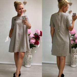 Платье короткое однотонное У1392