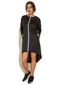 Платье короткое с длинным рукавом повседневное У9380