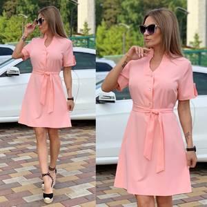 Платье короткое современное Ц6710