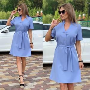 Платье короткое современное Ц6712