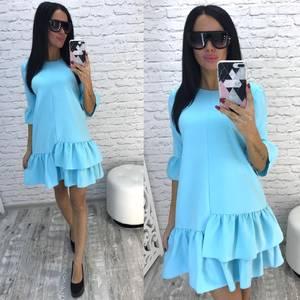 Платье короткое современное летнее Ф2210