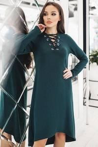 Платье короткое однотонное современное Ф3758