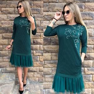 Платье короткое нарядное современное У0392