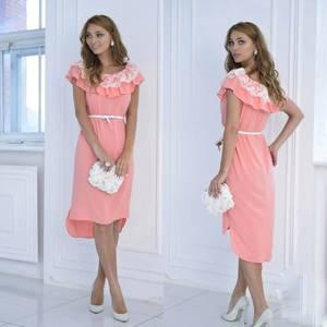 Платье короткое нарядное летнее Ф6965
